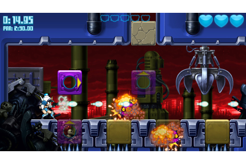 Mighty Switch Force: Hyper Drive Edition (Wii U eShop ...