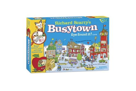 Richard Scarry Busy Town Game by Kroeger | Toys | chapters ...