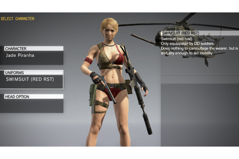 Metal Gear Solid V: The Phantom Pain Receives Swimwear ...