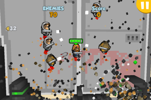 Nederlandse game Rocket Riot HD in de App Store verschenen