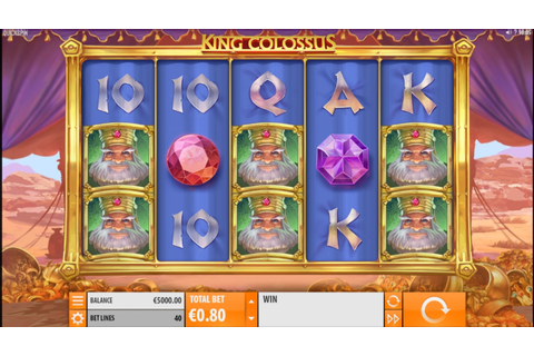 King Colossus Slot Machine Online by Quickspin Review ...