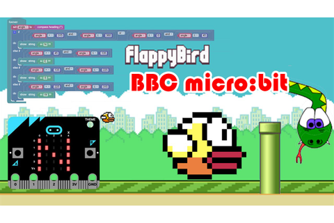 BBC micro:bit Flappy Bird Game - YouTube