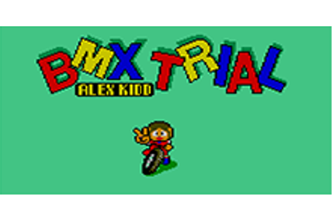 Alex Kidd - BMX Trial Download Game | GameFabrique
