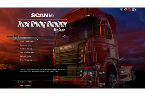 Scania Truck Driving Simulator - The Game | Daily PC Game ...