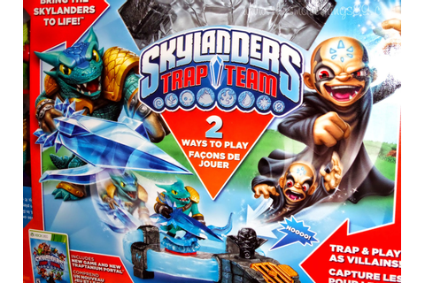 Newest Skylanders Game - Skylanders Trap Team {#Review} # ...