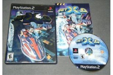 Jet X2O COMPLETE GAME for your Playstation 2 PS2 system GC ...
