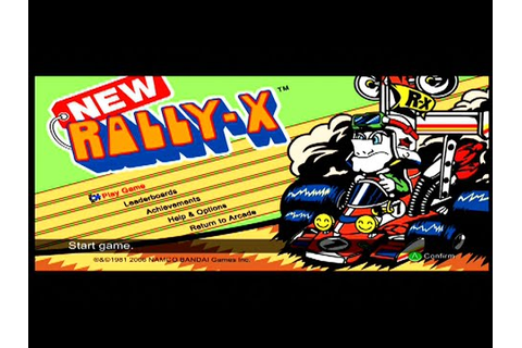New Rally X - Xbox 360 Live Arcade Gameplay - XBLA - YouTube