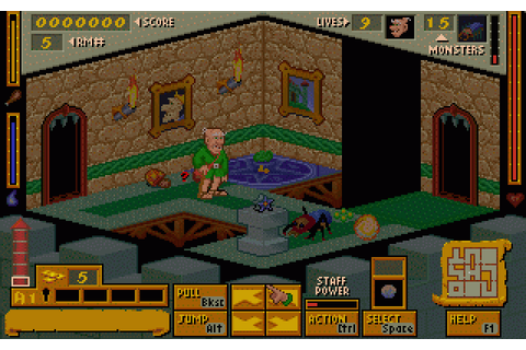 Mystic Towers (1994) by Animation FX MS-DOS game