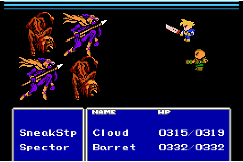 Final Fantasy 7 unofficial NES port restored, improved by ...