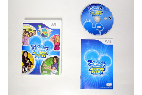 Disney Channel All Star Party game for Wii (Complete ...