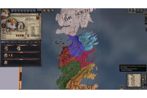 A Game of Thrones mod for Crusader Kings 2 has been ...