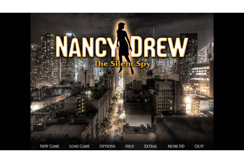 Nancy Drew 29: The Silent Spy Gameplay - YouTube