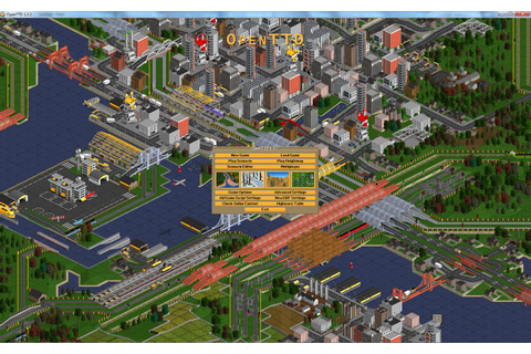 Install OpenTTD with HD graphics - Gameplayinside