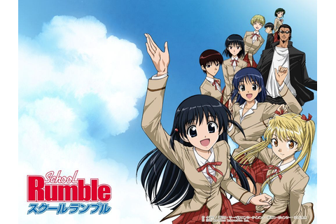 Happy Robot: Anime: School Rumble Season 1