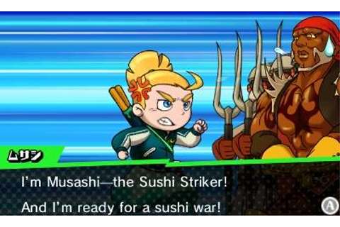 Sushi Striker: The Way of Sushido Announced For 3DS ...