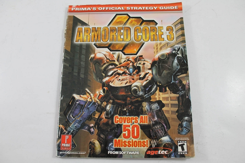 Armored Core 3 Official Strategy Guide - Prima Games