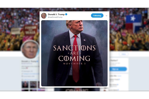 Trump tweets 'Game of Thrones' teaser on Iran - CNN Video