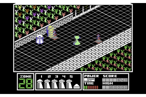Highway Encounter (1986) by Pedigree Software C64 game