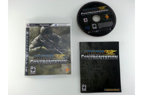 SOCOM Confrontation game for Playstation 3 (Complete ...