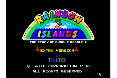 Rainbow Islands - The Story of Bubble Bobble 2 Screenshots ...