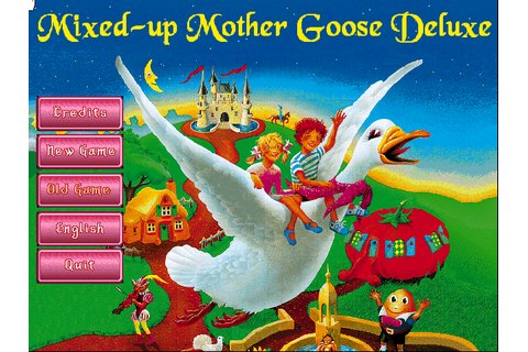 Mixed-Up Mother Goose Deluxe (1995 - Windows/Windows 3.x ...