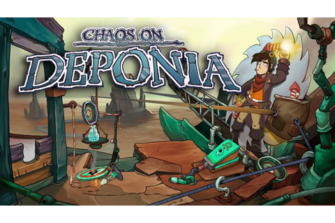 Chaos on Deponia - Console Release Trailer - YouTube