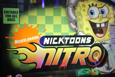 1X, NICKTOONS NITRO VIDEO GAME **** CARD SWIPE SYSTEM ...