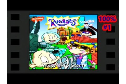 Rugrats: Studio Tour PS1 100% Playthrough Part 1 - YouTube