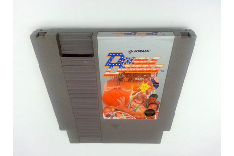 Double Dribble game for Nintendo NES - Loose - TheGameGuy.ca