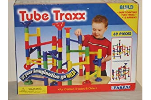 Amazon.com: Tube Traxx; Snap Together Tube Traxx: Toys & Games