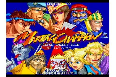 Martial Champion (Arcade) - YouTube