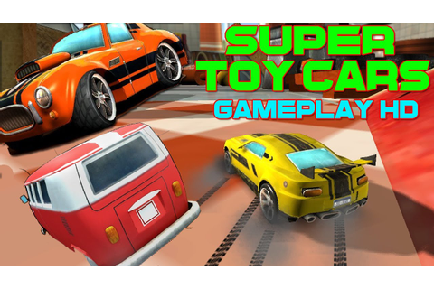 Super Toy Cars Game Gameplay 7 Tracks PC HD - YouTube