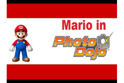 Mario in Photo Dojo - YouTube