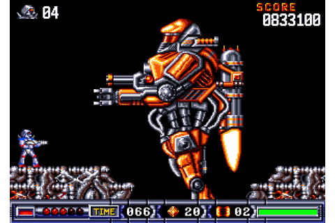 Turrican II: The Final Fight (1991) by Factor 5 Amiga game