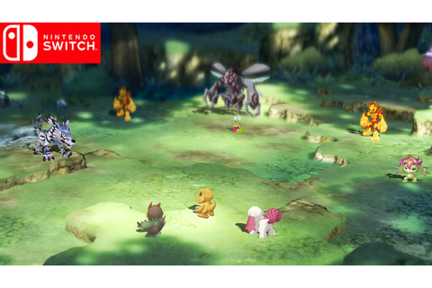 Digimon Survive | Upcoming Nintendo Switch - YouTube