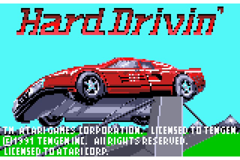Hard Drivin' Details - LaunchBox Games Database