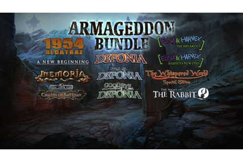 The Daedalic Armageddon Bundle à 15.99€ sur Gamesplanet ...