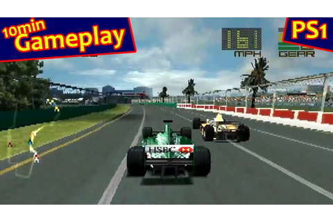 Formula One 2000 ... (PS1) - YouTube