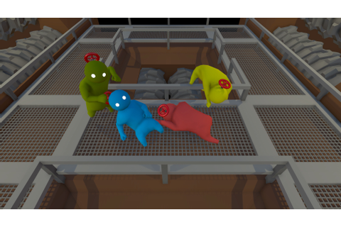 Steam Greenlight Fight image - Gang Beasts (prototype ...