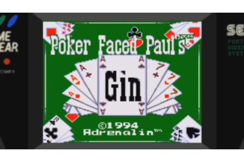 Poker Face Paul's Gin (Game Gear) - YouTube