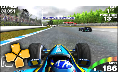 F1 Grand Prix 2005 PPSSPP Gameplay Full HD / 60FPS - YouTube