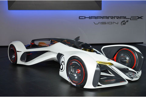 Chevrolet Chaparral 2X Gran Turismo Concept is a Virtual ...