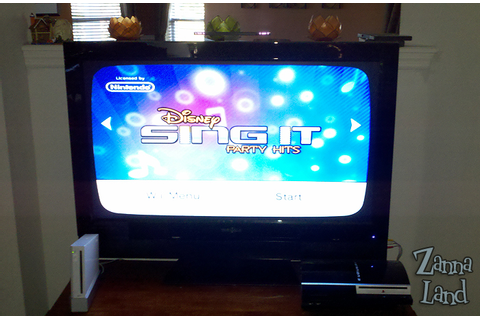Game Review - Disney Sing It: Party Hits for Nintendo Wii ...