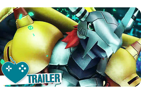DIGIMON WORLD: NEXT ORDER Trailer (2017) PS4 Game - YouTube