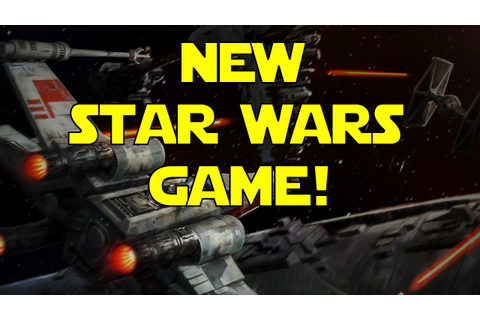 NEW STAR WARS GAME! Leaked Rogue Squadron Gameplay! [Star ...