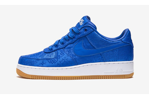 CLOT x Nike Air Force 1 Blue: How & Where to Buy Today