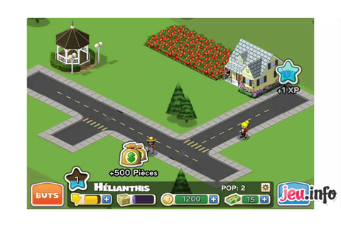 Jeu CityVille Hometown iPhone - YouTube