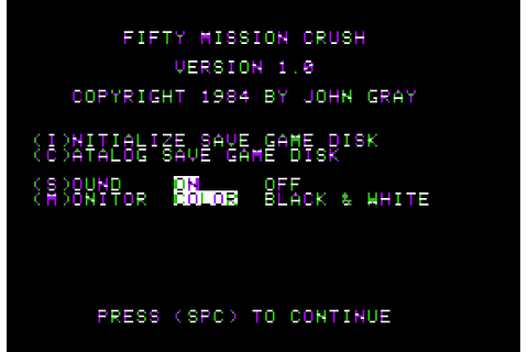 Download 50 Mission Crush - My Abandonware