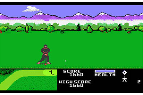 Ninja Golf Review for Atari 7800 (1990) - Defunct Games