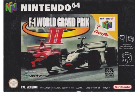 F-1 World Grand Prix ROM - Nintendo 64 (N64) | Emulator.Games